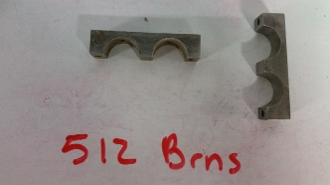 BEARING, PILLOW BLOCK, UPPER, (LIKE 18512-3)  MACHINED AND S